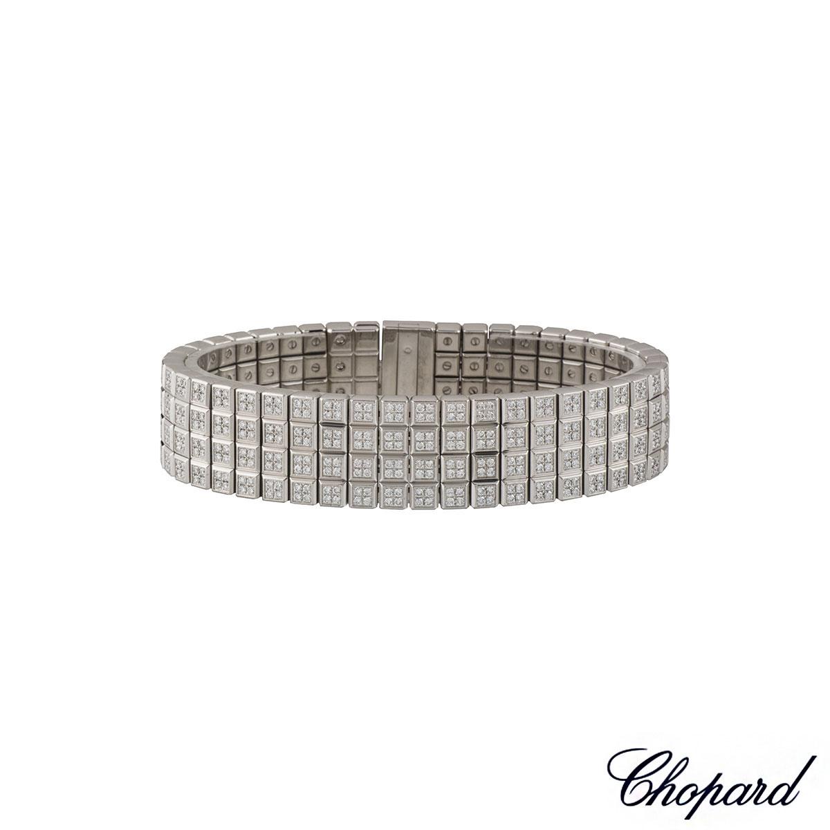 Chopard Ice Cube Diamond Bracelet in 18K Yellow Gold 9PdlIzFd